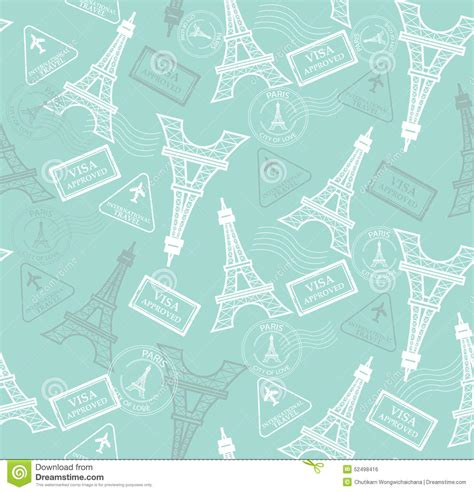 pattern travel background travel pattern stock vector image 52498416