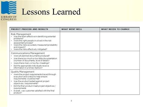 lessons learned template powerpoint lessons learned template id lessons learned presentedname