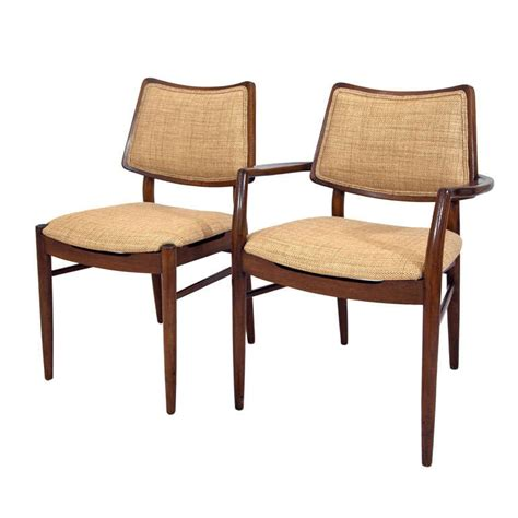 Maple Dining Room Chairs Six Maple Dining Chairs 1960 S At 1stdibs