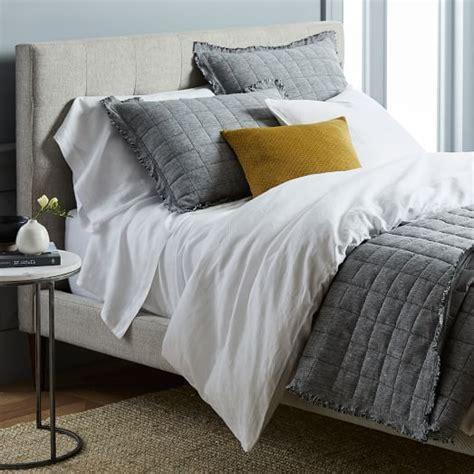 belgian flax linen bedding shop by look west elm