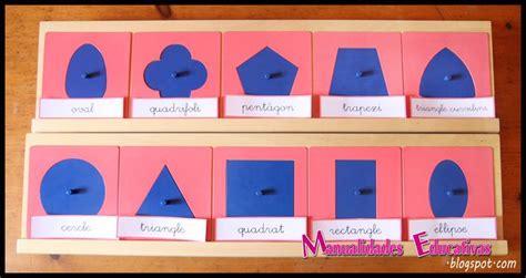 figuras geometricas montessori resaques met 225 licos montessori creciendo con montessori