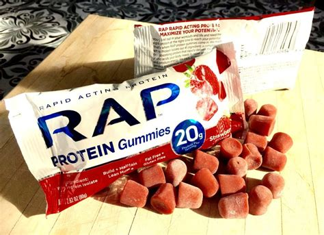 protein gummies mountain bike magazine rap release s new protein