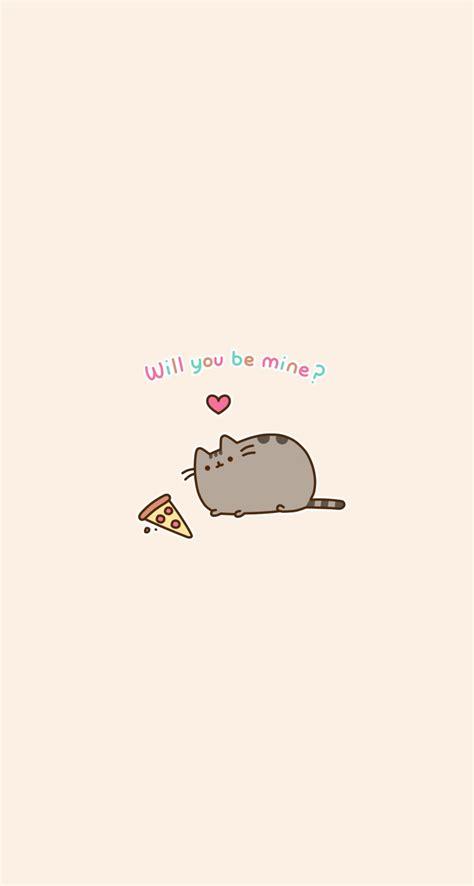 pusheen cat wallpaper iphone pusheen wallpaper phone background pizza wallpapers