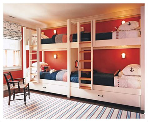 bunk room ideas kids bedroom decorating ideas using loft bed with cool