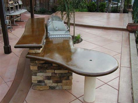 outdoor concrete countertop joey