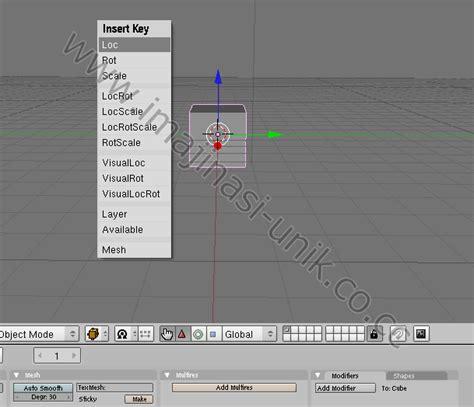 cara membuat gambar 3d di blender ujian praktik cara membuat animasi sederhana di blender 3d