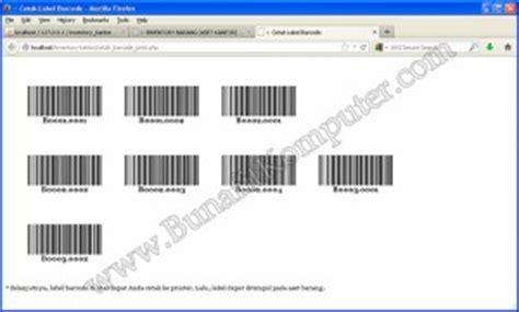 membuat barcode sederhana internetsaudi blog