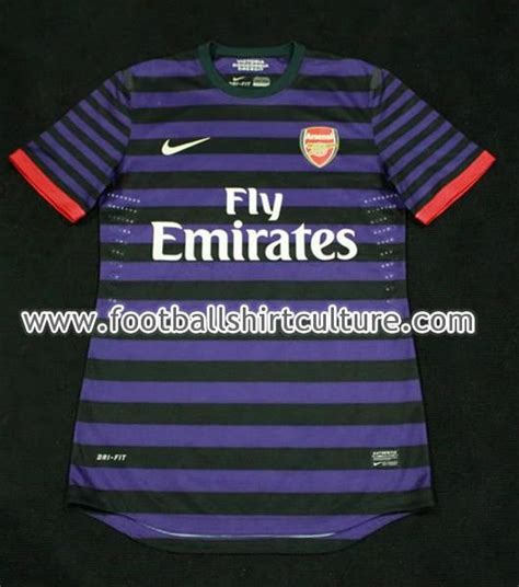 Jersey Arsenal 2012 2013 leaked arsenal kit 2012 2013 new arsenal away jersey 12 13 football kit news