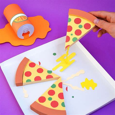 How To Make Paper Pizza - 30 creative paper designs hongkiat