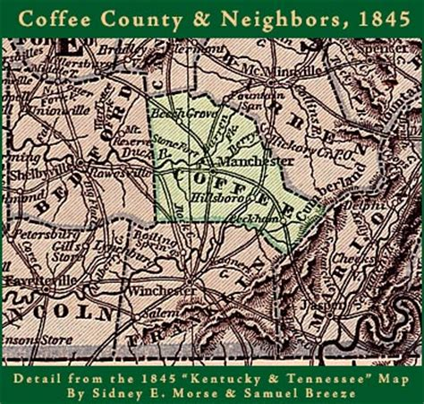 Coffee County Tn Records Coffee County Tennessee Genealogy Census Vital Records