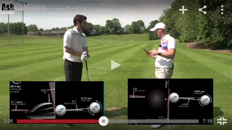 swing too flat golf tips is your backswing too flat bunkers paradise