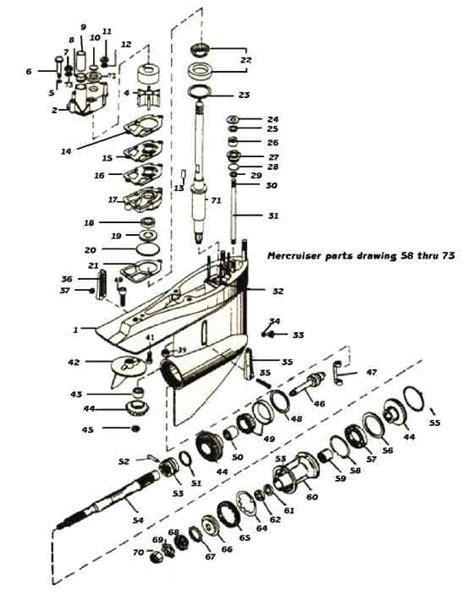 boat stern diagram 888 mc 1 need correct stern drive diagrams page 1