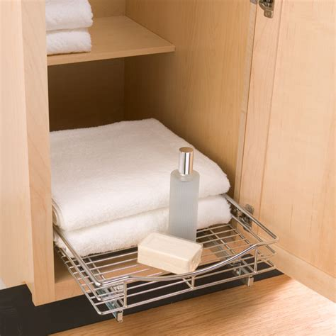 base cabinet pull out pull out shelf lynk chrome pull out cabinet drawers