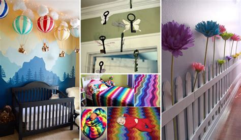 Decorate Nursery Awesome Diy Ideas To Decorate A Baby Nursery