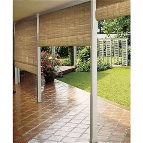 bamboo patio shade bamboo reed blinds indoor outdoor roll up shade patio