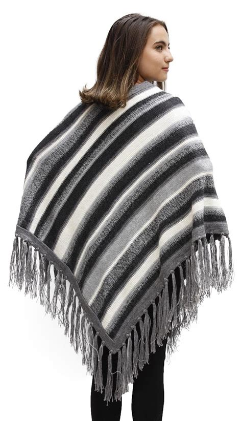 Handmade Poncho - s 100 alpaca wool handmade superfine