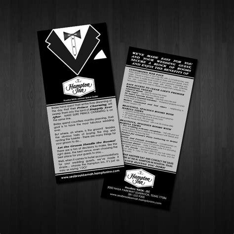 Franchise Teh Racik rack card design for franchise hotel whim design place