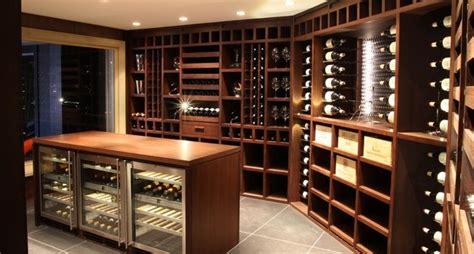 Bar A Vin Moderne by Custom Wine Cellar Wenge Wood Moderne Cave 224 Vin
