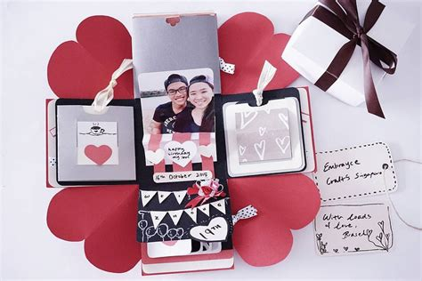 how to make an exploding box card diy birthday exploding box card sweetheart