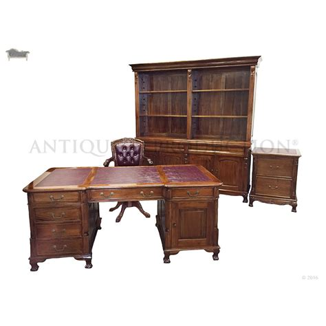 writing desk with matching file cabinet partner s desk 180cm with matching office chair file