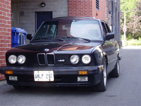 1988 Bmw M5 For Sale by 1988 Bmw M5 For Sale Canada
