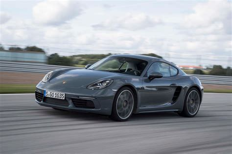 porsche cayman 2017 porsche 718 cayman drive review performance