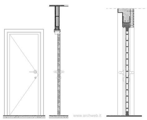porte tagliafuoco dwg porte in sezione verticale