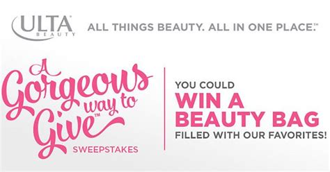 Ulta Giveaway 2017 - ulta beauty a gorgeous way to give sweepstakes how to enter prizes more