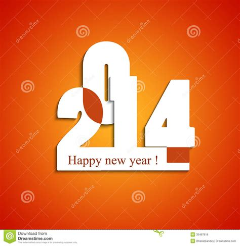 vector happy new year colorful creative design royalty