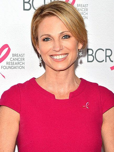 any ribavh short hair amy robach on cancer battle a year after diagnosis amy