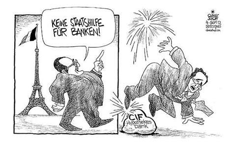 banken in frankreich oliver schopf politische karikatur frankreich pr 228 sident