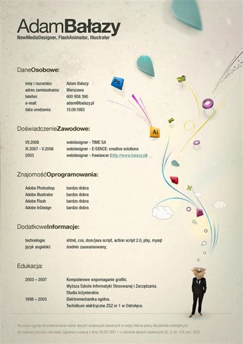 most creative resumes 40 most creative resume design seen speckyboy