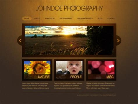 design html page using photoshop 22 creative web design photoshop layout tutorials designdune