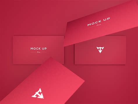 6 free business card mock ups by javier torres lunar