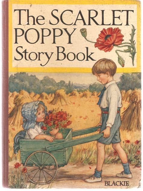 the book by blackie the scarlet poppy story book blackie