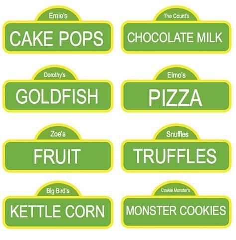 sesame label templates custom sesame labels names sesame food and sauces