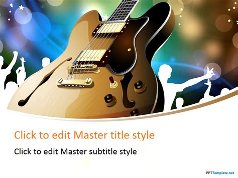 download free powerpoint music presentation templates