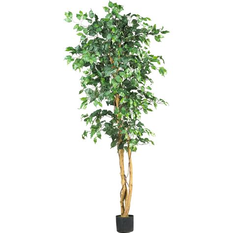 6 foot artificial ficus tree potted 5209 nearly natural