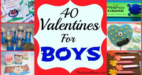 what to do for valentines 40 valentines for boys