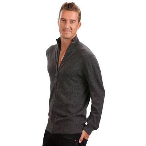 Sweater Cardigans 11 gray zippered cardigan by citizen