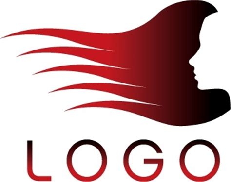 salon logo templates hair salon logo template vector free vector in