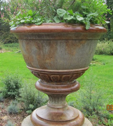 Concrete Urn Planter by Urns
