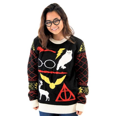 harry potter ron christmas sweater cashmere sweater england