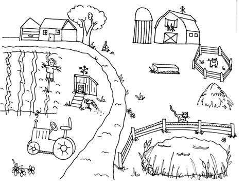 coloring page animals farm farm clipart coloring pencil and in color farm clipart
