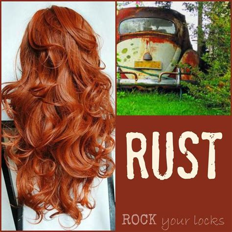 rust colored hair 1000 images about rock your locks color formulations on