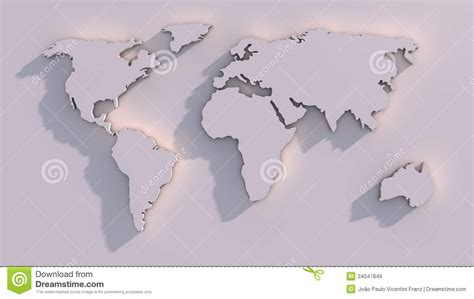 world map image 3d 3d world map royalty free stock images image 34047849
