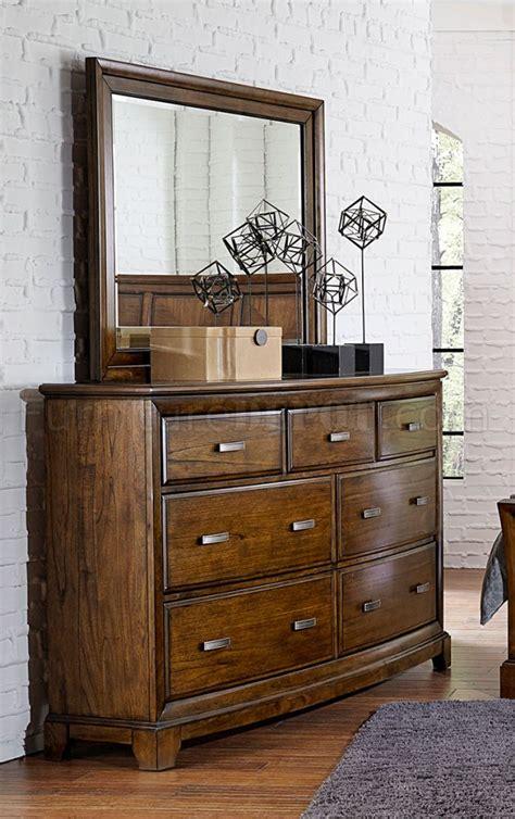 traditional 5pc bedroom set w options terron bedroom 5pc set 1909rf in medium oak w options