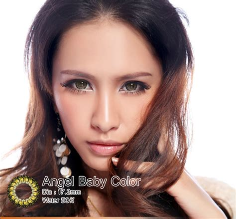 Original Softlens Dreamcon Color Brown Coklat jual softlens baby color series brown coklat geo