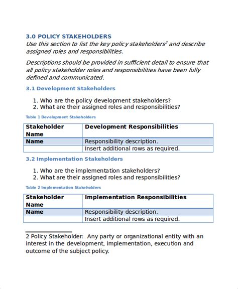 physical access policy template policy template 10 free word pdf document downloads