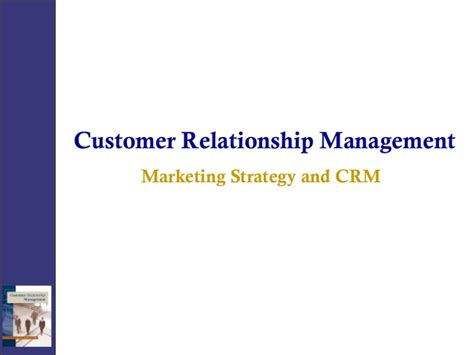Customer Relationship Management Ppt For Mba by Crm Marketing
